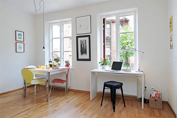 Dicas de decora o para apartamento pequeno nada fr gil for Simple dining room designs for small spaces