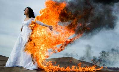 Are absolutely Trash the dress on fire opinion