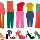 Combinações cores cítricas