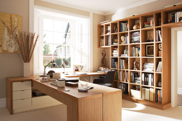 Decora o do home office melhores dicas e fotos nada fr gil - Small home office space gallery ...