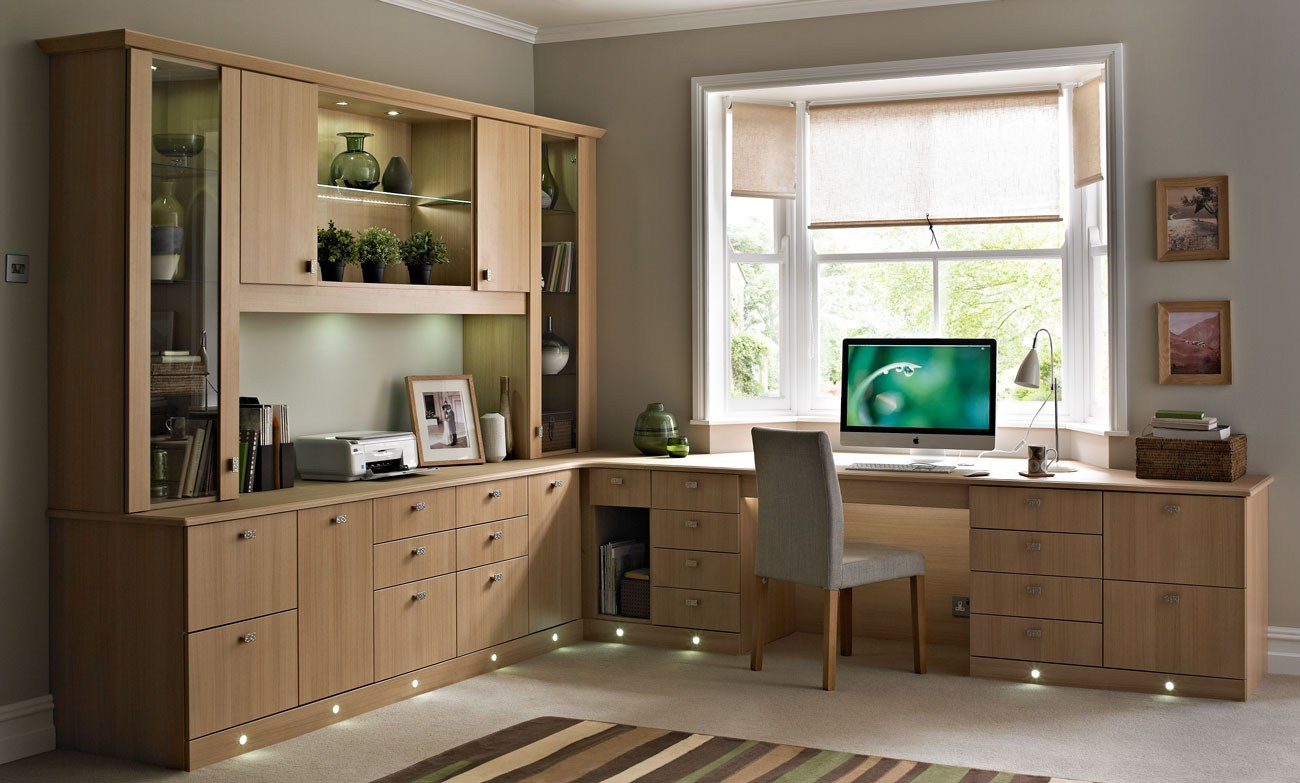 Decora o do home office melhores dicas e fotos nada fr gil Modern home office design ideas pictures