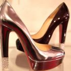 modelos de sapatos metalizados