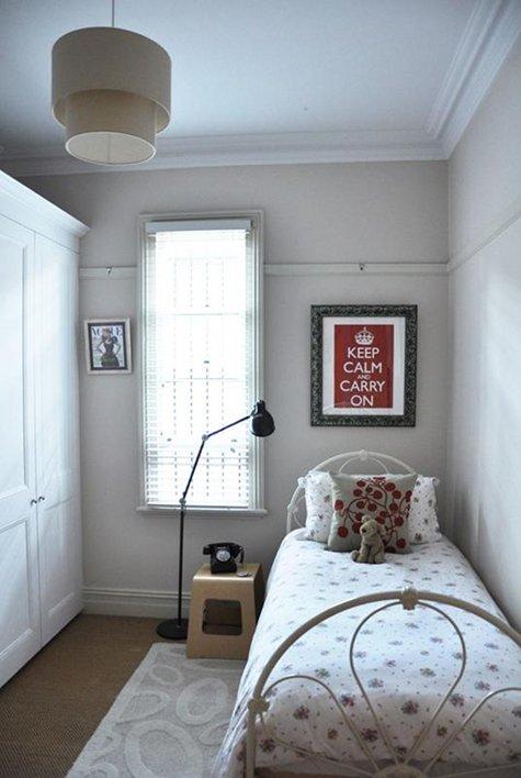 Como decorar quartos pequenos de modo organizado box da mari - Decorar recibidores pequenos ...