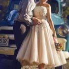 Vestidos Midi para Noivas
