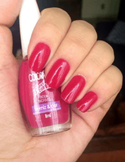 Esmalte rosa incrível