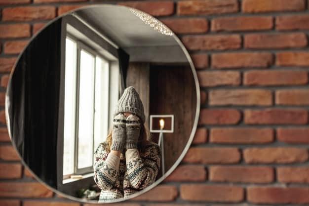 Decore as Paredes com Espelhos