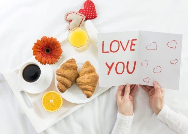 Presente de café da manhã