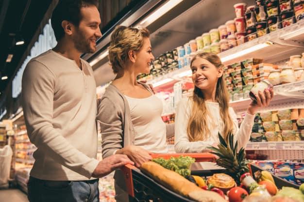 Supermercado: mensal ou semanal?