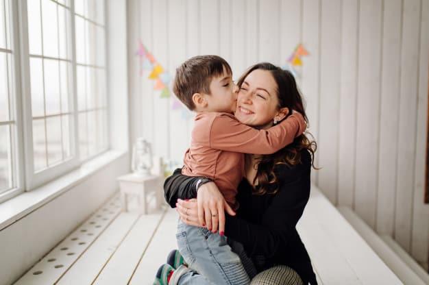 filhos de mães dinâmicas são mais ativos