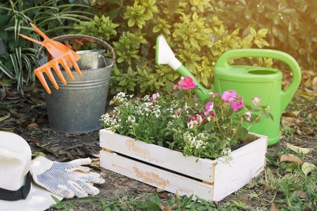 Ferramentas que facilitam o trabalho no jardim