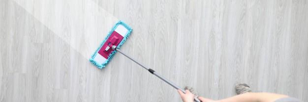 Como limpar diferentes tipos de pisos