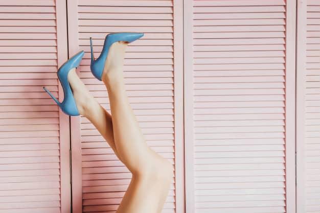 salto azul claro
