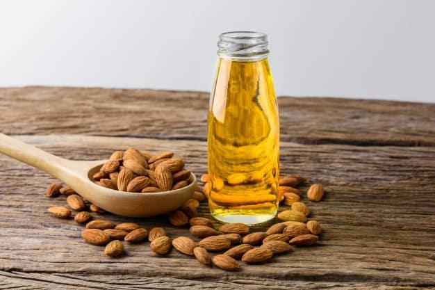 óleo de amendoas