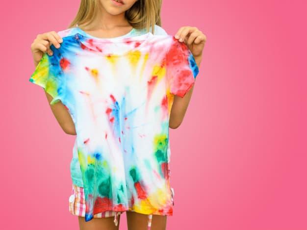 blusa tie-dye