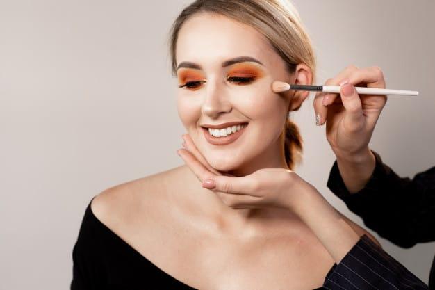 tendência de maquiagem