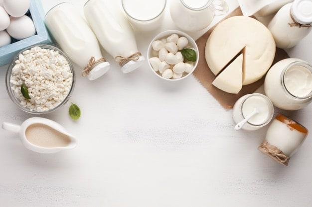 Produtos derivados do leite