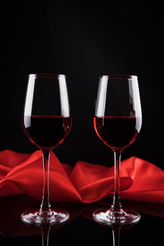 taça de vinho