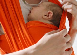 carregar bebê