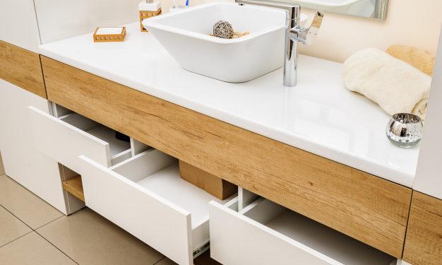 Ideias para organizar o banheiro com muito charme