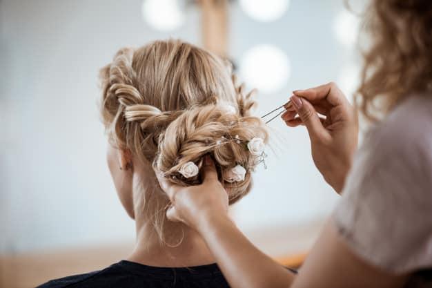 penteado de madrinha