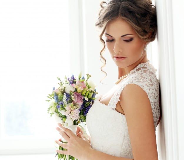 linda maquiagem para noivas