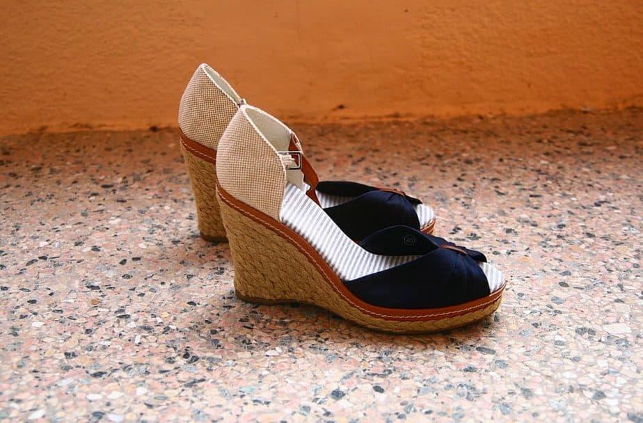 Como usar sandálias anabelas e plataformas 5