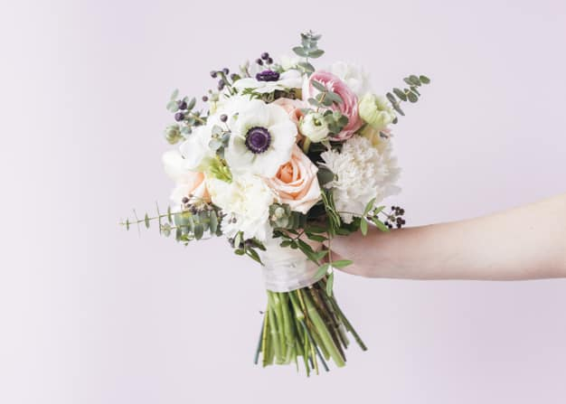Buquê de flores para casamento