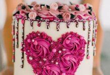 Bola com pedras rosas