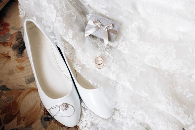 Sapato para noivas simples