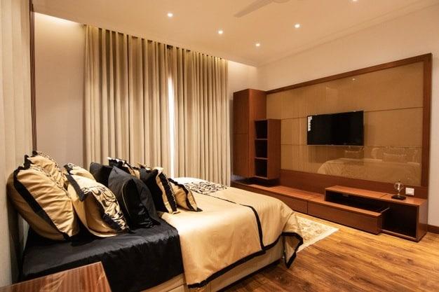 cama posta sofisticada