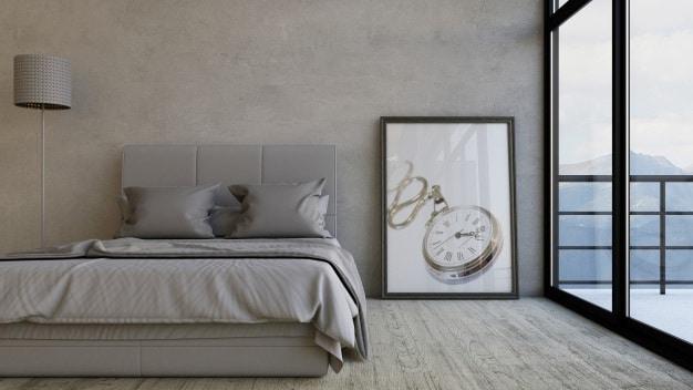 cama posta de casal elegante