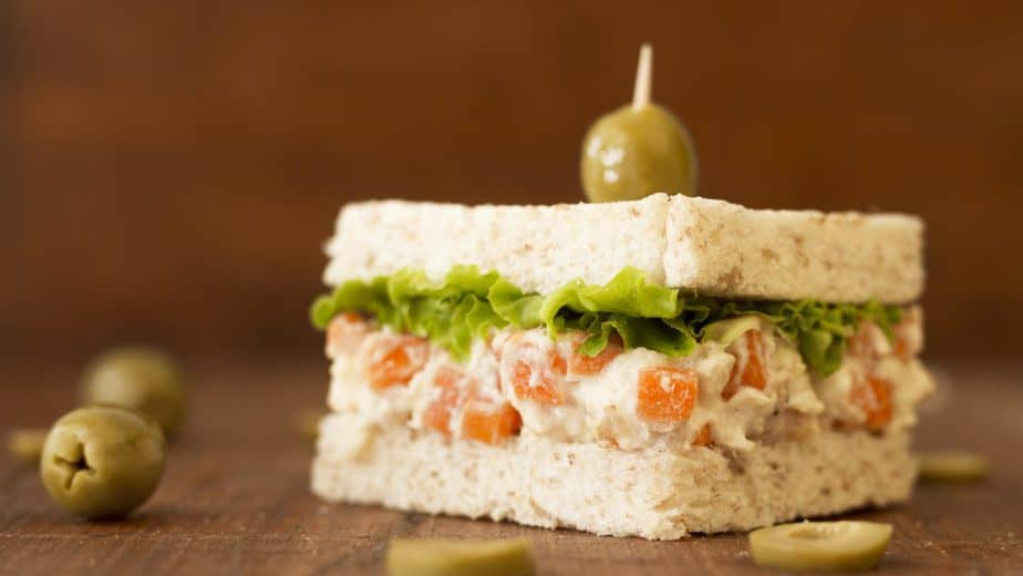 sanduíches naturais azeitona cenoura