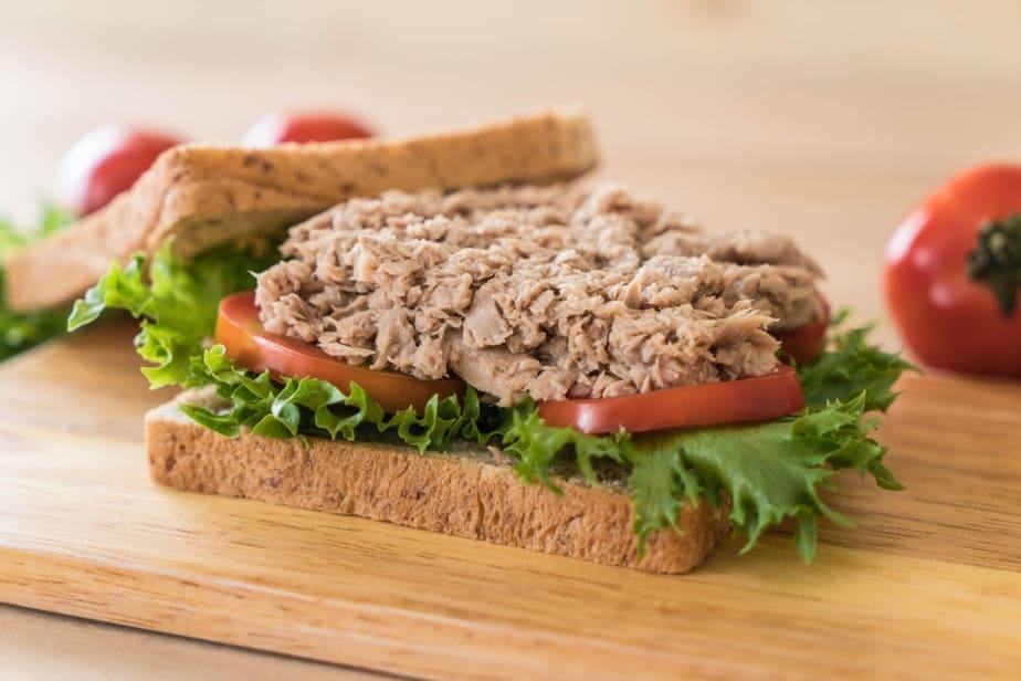 sanduiches naturais atum