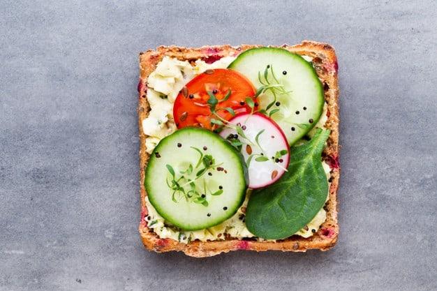 sanduiches naturais vegetariano