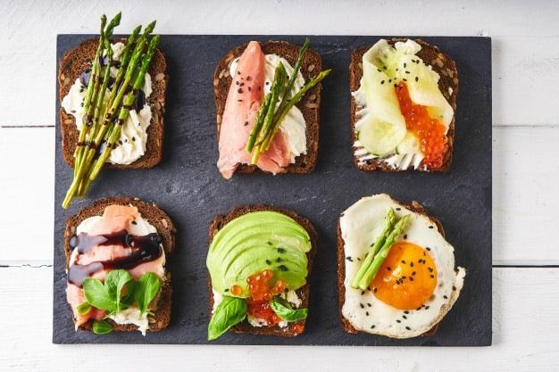 sanduiches naturais saudáveis
