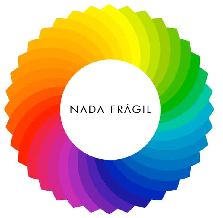 círculo cromático color block