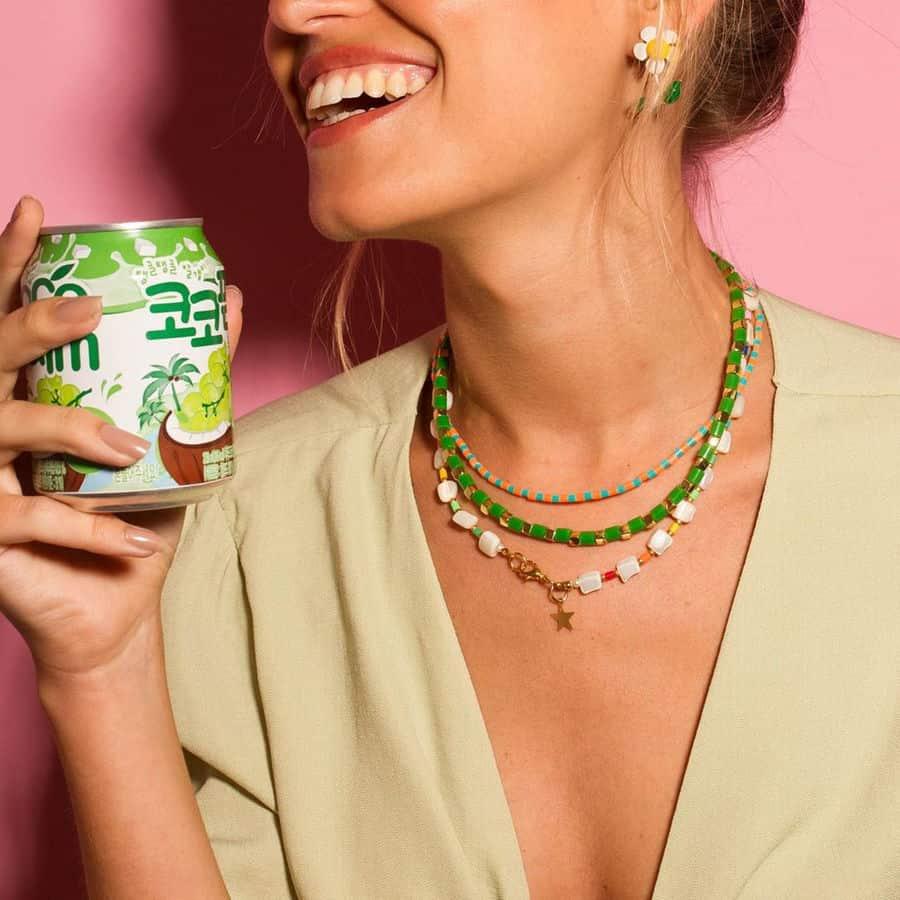colar de miçangas - all.beads