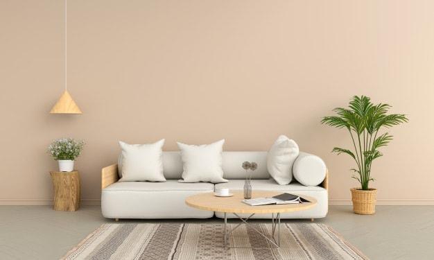 tapete com estampa variada