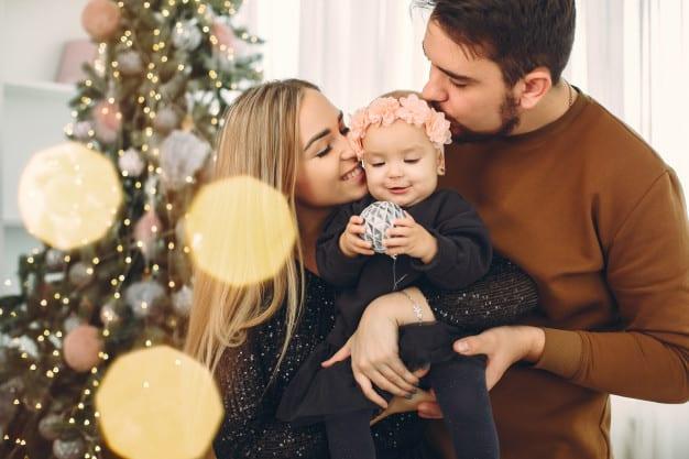 festa de fim de ano em família