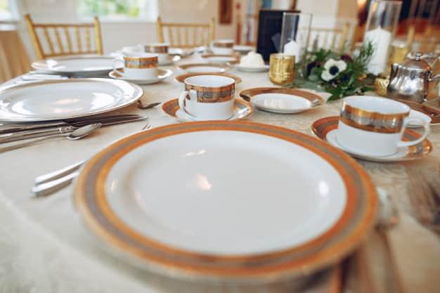 pratos decorados