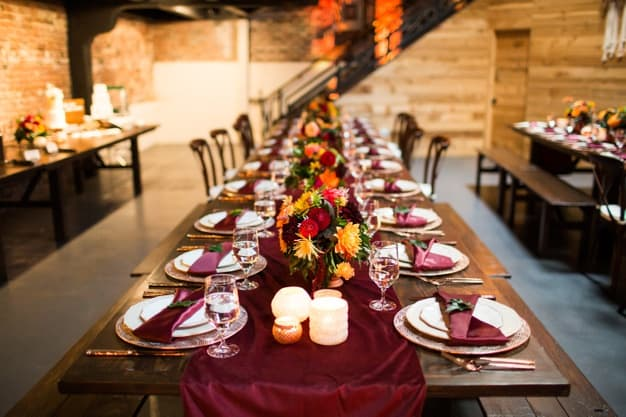 mesa de jantar elegante