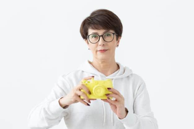 Mulher acima 40 anos