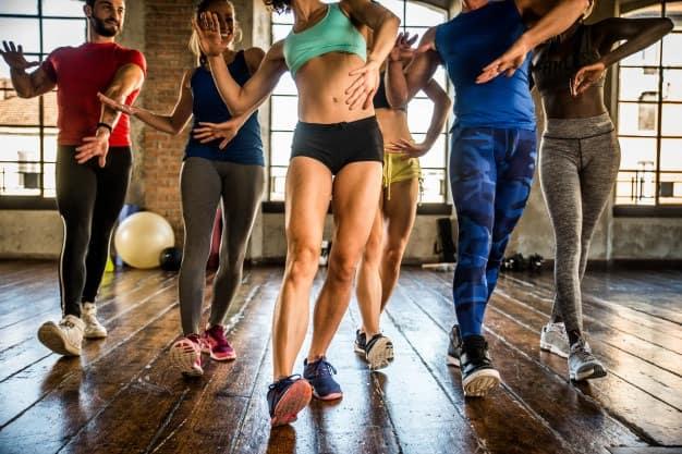 Zumba Dança Atividade Física academia