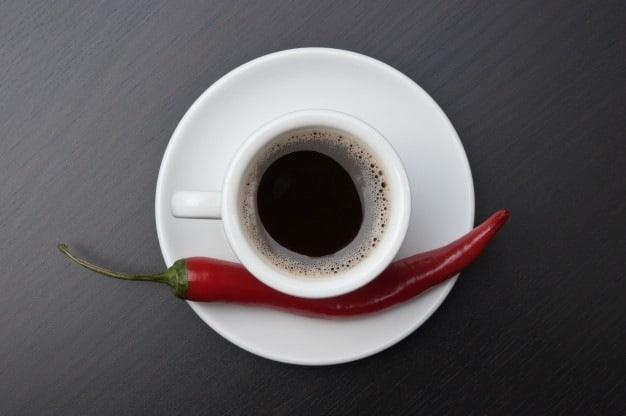 pimenta café refluxo gastroesofágico