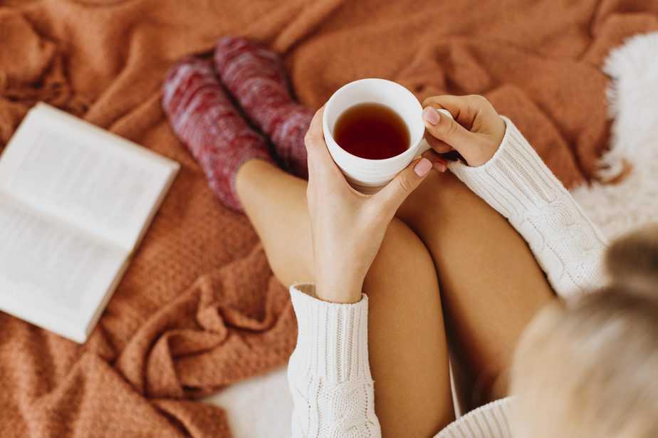 Chás para dormir livro ritual do sono