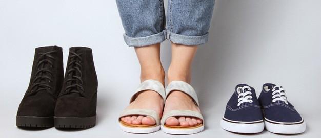 cuidados com os pés qualidade dos calçados