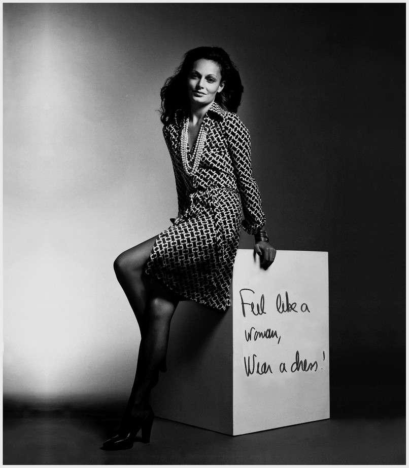 mulheres que mudaram o mundo da moda Diane Von Furstenberg