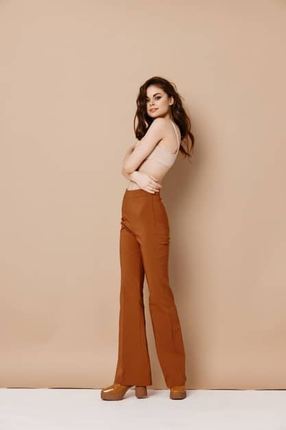 outono 2021 calça pantalona