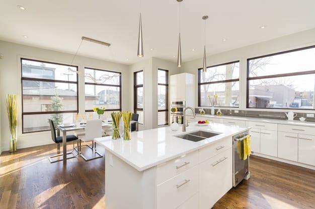 decoração de cozinha americana 2021