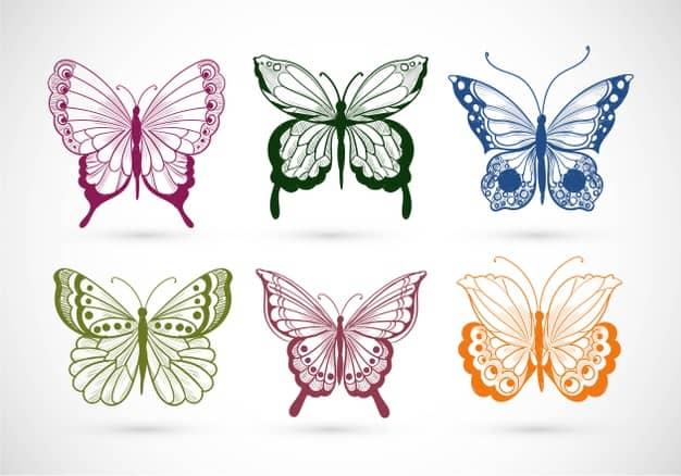 borboleta Ideias de tatuagem para mulheres 2021
